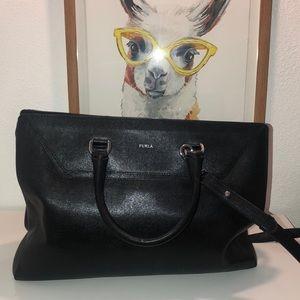 Furla black purse